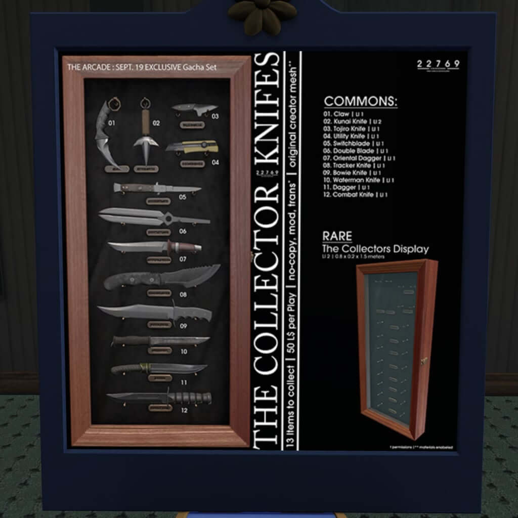 THE COLLECTIOR KNIFES